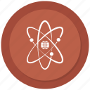 atom, molecule, outline, physics