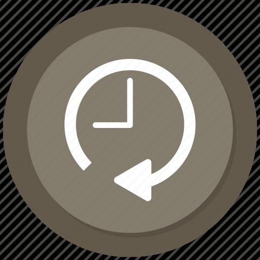 clock, history, timer icon