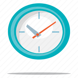clock, office, time management icon