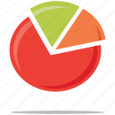 analytics, pie chart, statistics icon