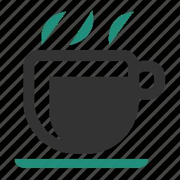 break, breakfast, cafe, coffee, coffee break, coffee-break, cup, dinner, drink, food, glass, hot, mug, office, relax, steamy, tea, tea cup, warm, work icon