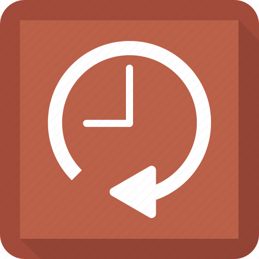 clock, history, timer icon