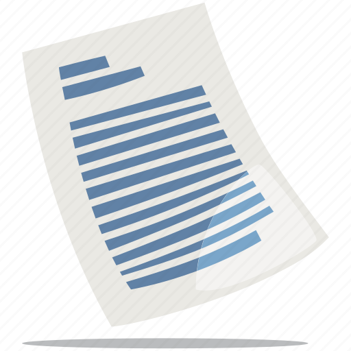 contract, document, file, sheet icon