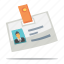 id card, identity document icon