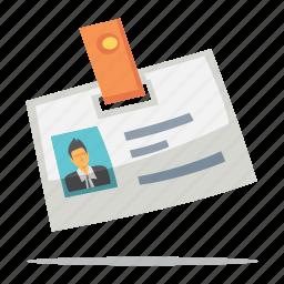 id card, identity document icon
