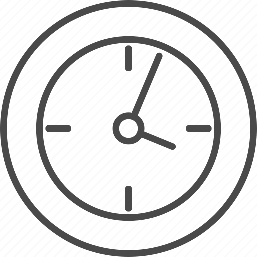 business, clock, face, office, time, wall, watch icon