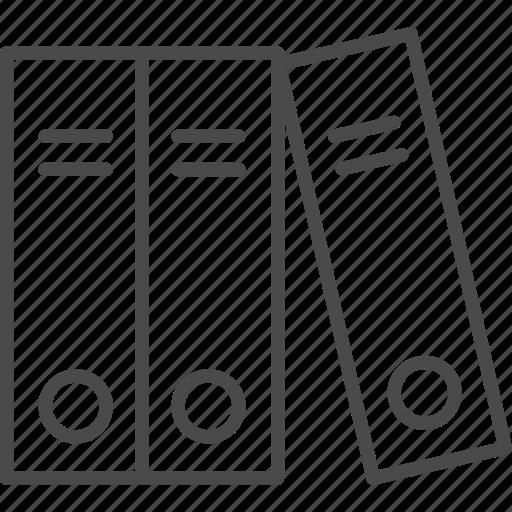 binder, business, document, file, folder, office, work icon