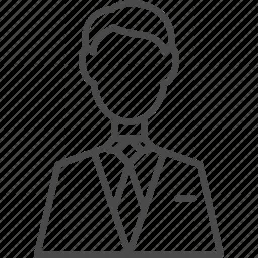 avatar, business, businessman, customer, man, people, user icon