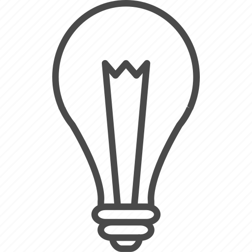bulb, electric, electrical, idea, lamp, light, lightbulb icon