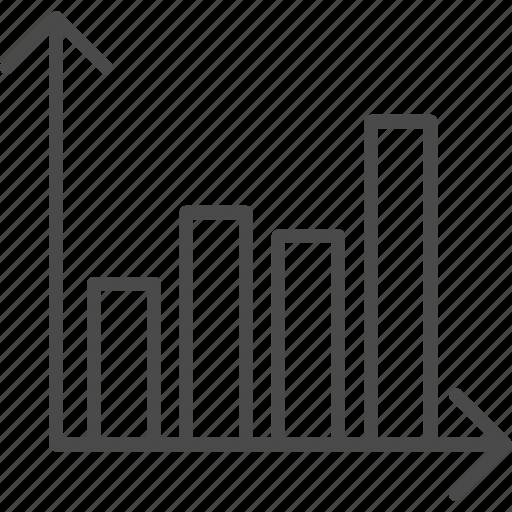 analytics, business, chart, diagram, graph, infographics, statistics icon