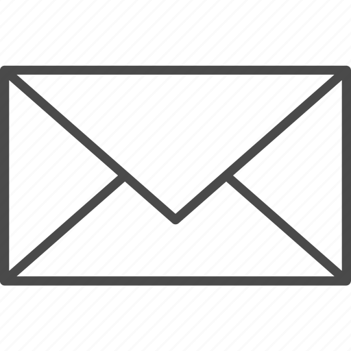 email, envelope, letter, mail, office, post, postal icon