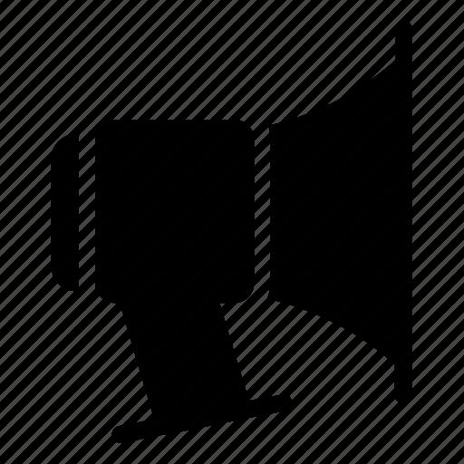 megaphone, talk, volume icon icon