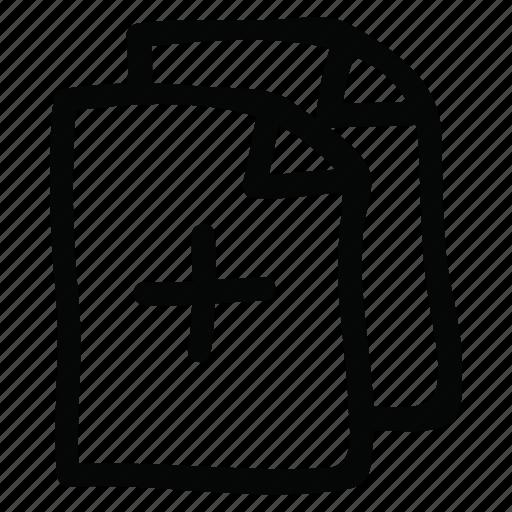 copy, documents, files icon icon