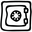 locker, protection, safe, safety icon icon