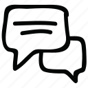 message icon, munication icon