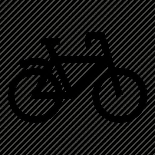 bicycle, bike, bike rack, cycle, forward, sign icon