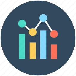 bar chart, business growth, graph, growth chart, seo graph icon
