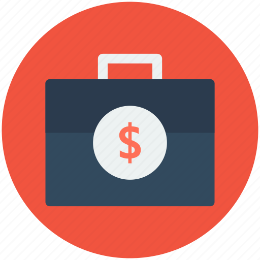 Currency bag, dollar bag, money, money bag, money suitcase icon - Download on Iconfinder
