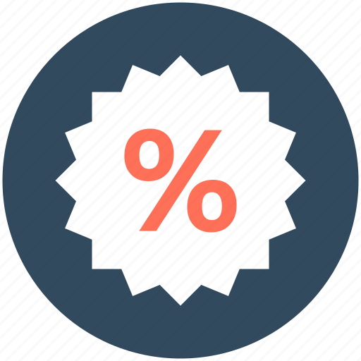 discount label, discount offer, discount tag, offer, percentage icon