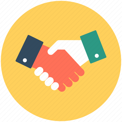 collaboration, meeting, partnership, shake hands, together icon