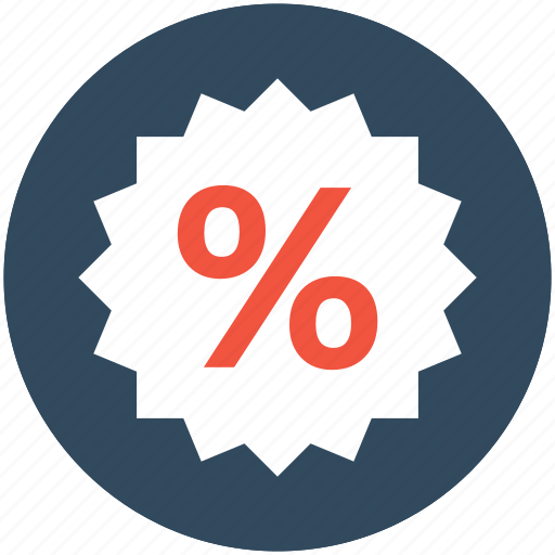 discount label, discount offer, discount tag, percent, percentage icon
