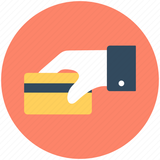 Atm card, card swap, credit card, give card, hand gesture icon - Download on Iconfinder