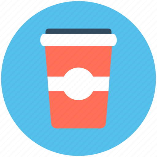 coffee cup, coffee glass, disposable cup, juice cup, paper cup icon