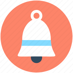 alert, bell, hand bell, notification, ring icon