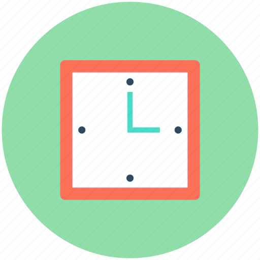 Clock, time, time keeper, timer, wall clock icon - Download on Iconfinder