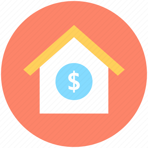 bank, house for sale, house price, house value, real estate icon