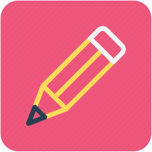 draw, pencils lead pencil, stationery, write icon