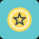 favorite, rating star, web rating, star, ranking star icon