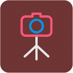 camera, photo camera, photographer, photography, tripod icon
