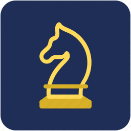 chess, chess game, chess horse, chess knight, chess piece icon