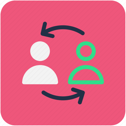 communication, conversation, discussing, talking, users icon