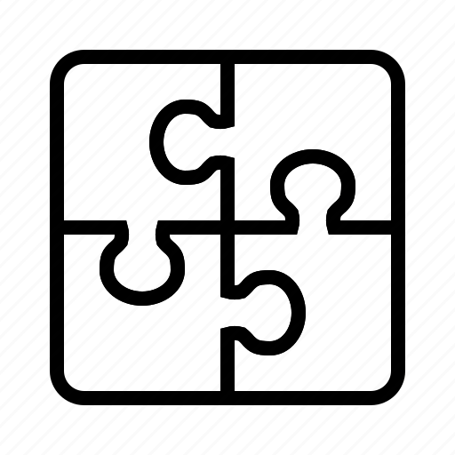 business, puzzle, solution, strategy icon
