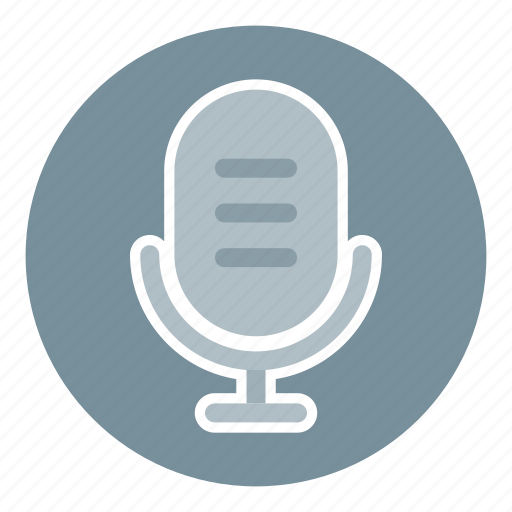 business, digital microphone, microphone, microphone stand, microphone voice, office, recording icon