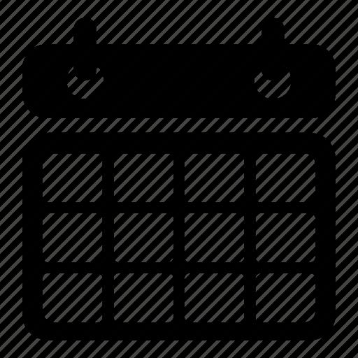 Daily Calendar Icon : Business calendar daily monthly