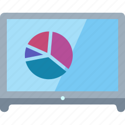 business analytics, pie chart, report, statistics icon