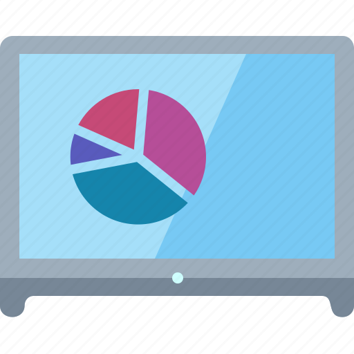 business analytics, pie chart, statistics icon