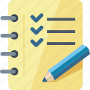 checklist, tasks completed, to do list icon