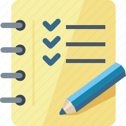 check mark, checklist, tasks completed, to do list icon