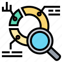 analysis, data, evaluation, research, results icon