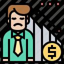 bankruptcy, debt, loss, money, recess