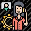 advise, consultant, customer, service, support icon