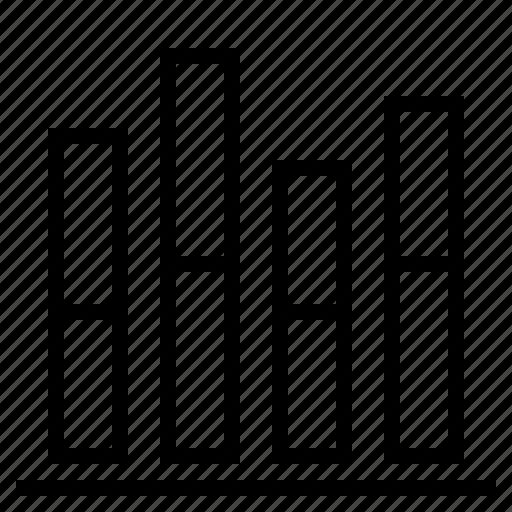 bar graph, business, graph icon
