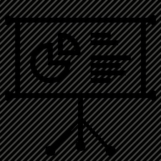 business, business presentaion, chart, pie chart, presentation icon