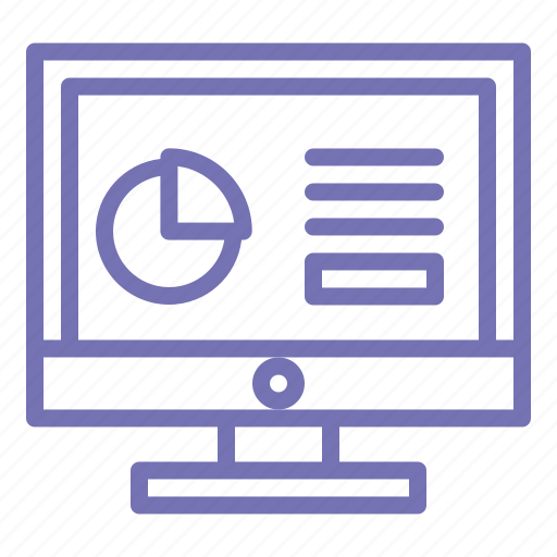 Business, computer, monitor, office, outline, pc, screen icon - Download on Iconfinder