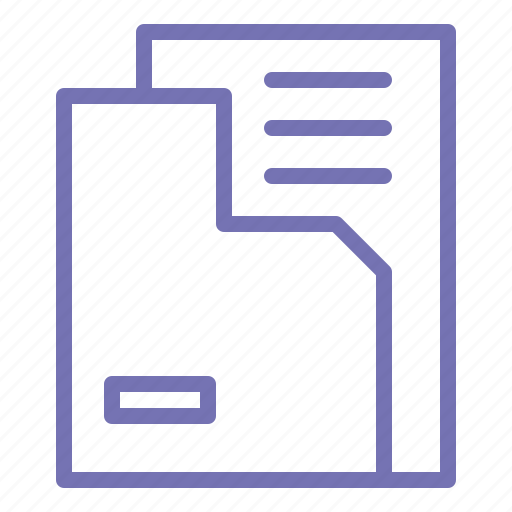 business, document, file, file manager, office, outline icon