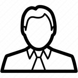 account, avatar, businessman, man, user icon